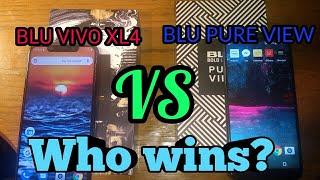 Full comparison BLU VIVO XL4 VS BLU Pure View | $99-$129 Excellent Value