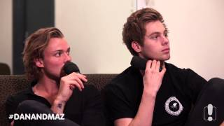 5SOS's Luke & Ashton Talk About how Michael Is Doing After Burning Face
