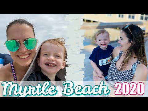 Myrtle Beach SC Beach Vlog Pt.2 || Things To Do In Myrtle Beach With A Toddler