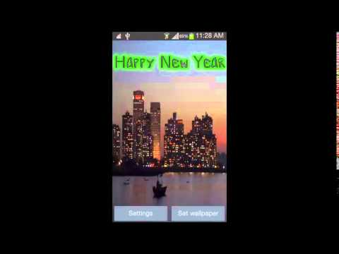 Video of Happy New Year 2015