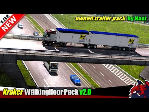 Kraker Walkingfloor Pack v2.0