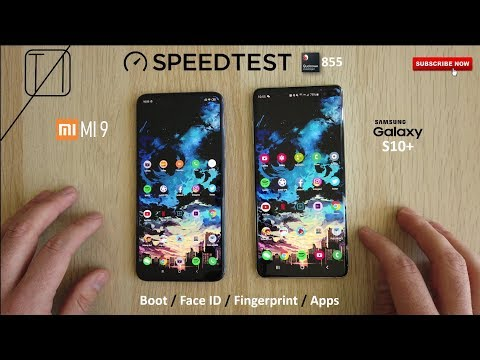 Xiaomi Mi 9 vs Galaxy S10+ Speed Test