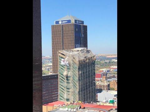 Снос 108-метрового здания