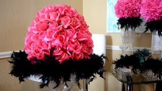 An update on my progress preparing for and event that I have to decorate for. i purchased standing martini glass, the pink roses and black feathered boa from Hobby Lobby. The martini glass and roses were on sale for 50% off and the feathered boa I got for 40% when I used the coupon from their website. Follow me at:https://www.facebook.com/taraslocalinspiration/https://www.instagram.com/taraslocalinspiration/?hl=en