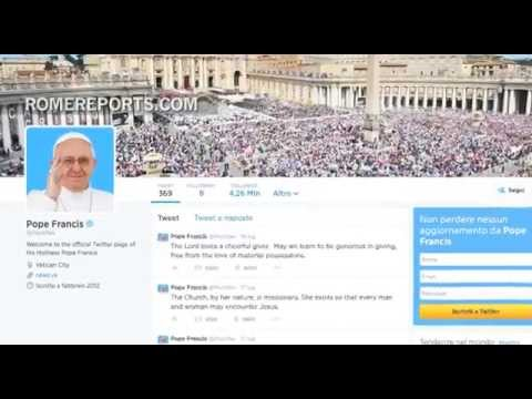 popular - http://en.romereports.com Every one or two days, Pope Francis tweets a short message on his @Pontifex account. He conveys not only his message, but his closeness and humility. Above all, he...