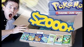 $2000+ Pokemon RARE VINTAGE Mystery Box!!!! by Unlisted Leaf