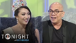 """Many people are not convinced with global warming but Miss Philippines Earth 2017 Karen Ibasco says, """"If it's not happening in front of you, it doesn't mean that it's not happening around the world because it is.""""Subscribe to ABS-CBN Entertainment channel! -http://bit.ly/ABS-CBNEntertainmentWatch the full episodes of Tonight With Boy Abunda on TFC.TVhttp://bit.ly/TonightWithBoyAbunda-TFCTVand on IWANT.TV for Philippine viewers, click:http://bit.ly/TonightWithBoyAbunda-IWANTvVisit our official website!http://entertainment.abs-cbn.com/tv/shows/tonightwithboyabunda/mainhttp://www.push.com.phFacebook:http://www.facebook.com/ABSCBNnetworkTwitter:https://twitter.com/ABSCBNhttps://twitter.com/abscbndotcomInstagram:http://instagram.com/abscbnonline"""