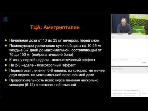 3. Данилов А.Б.: Антидепрессанты и хроническая боль