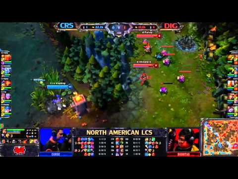 curse gaming - GAME STARTS AT: 4:25 Thanks to http://en.esl.tv/channel/riotgames/