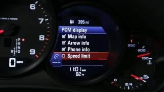 Displaying Speed Limit