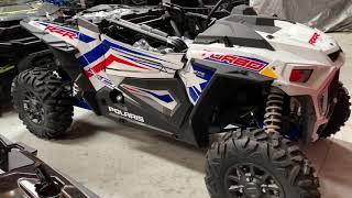 4. 2019 POLARIS RZR TURBO LE WHITE LIGHTNING USA