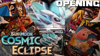 Goodbye, Alola! Opening an Alolan Sandslash GX Box of Pokemon Cards with Cosmic Eclipse Packs! by Flammable Lizard