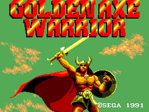Golden Axe Warrior Master System