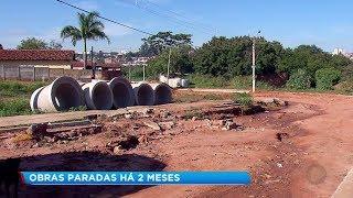 Moradores do Santa Edwiges em Bauru reclamam da demora na obra de infraestrutura do bairro