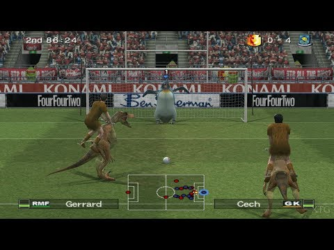 Pro Evolution Soccer 6 PS2 Gameplay HD (PCSX2)