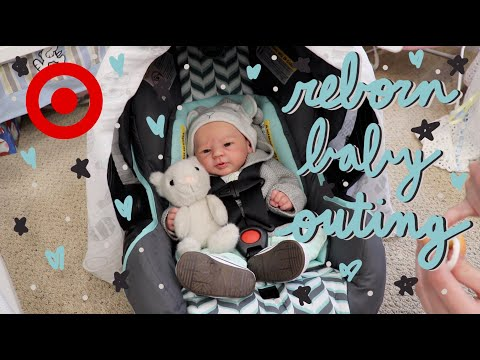 Target Outing with Reborn Baby Asher! Shopping with Reborn Baby | Kelli Maple
