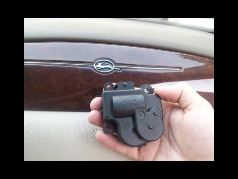Chevy Blend Door Actuator Replacement 2007 Impala