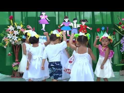 Đàn gà con lông vàng – Tổng kết trường Hồng Vân 2013