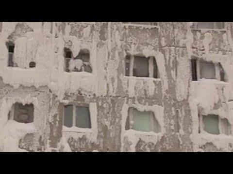 Ρωσία: Το παγωμένο κτίριο