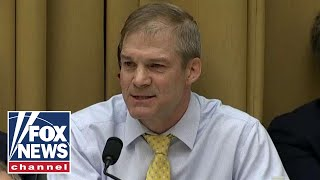Jim Jordan: House Democrats are trying to destroy Barr