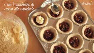Videoricetta: crostatine alla frutta secca