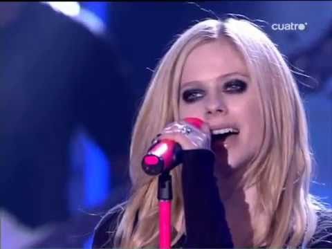 Avril Lavigne – When You're Gone (LIVE) – X Factor