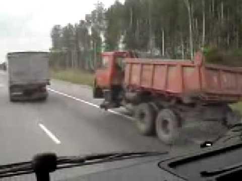 Jak se jezdí v Rusku :D