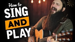 Video Play Guitar & Sing at the Same Time (in 3 Easy Steps) MP3, 3GP, MP4, WEBM, AVI, FLV Juli 2018
