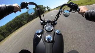 9. Harley Street Bob SPEED RUN