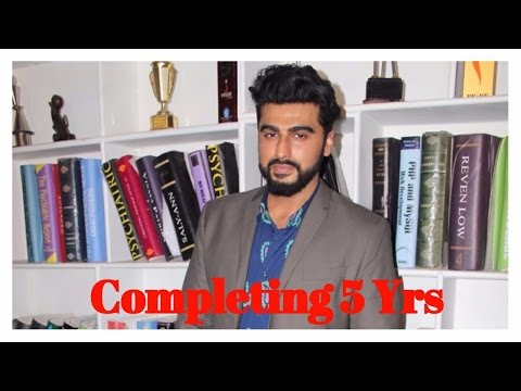 Arjun Kapoor Shares Golden Moment Of Completing 5 Years In Bollywood Industry