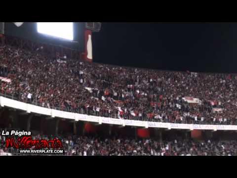 Video - Gol + Esa locura que siento por vos no se compara con nada - vs Newell's - Inicial 2012 - Los Borrachos del Tablón - River Plate - Argentina