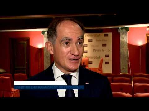 Monaco Press Club: Jean Castellini  replies to questions