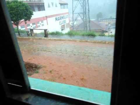 Chuva de Granizo em Marmelópolis MG