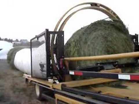 Automatic Tubeline Bale Wrapper 5500
