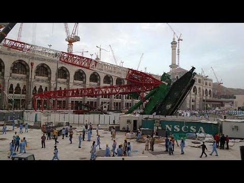 Μέκκα: Ξεπέρασαν τους 100 οι νεκροί από πτώση γερανού στο Μεγάλο Τέμενος