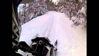 9. 2014 Arctic Cat High Country /  Camp trail Feb 22