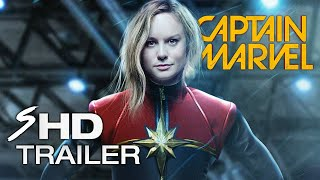 Marvel's Captain Marvel - (2019) Concept BRIE LARSON Movie Trailer (Fan Made)