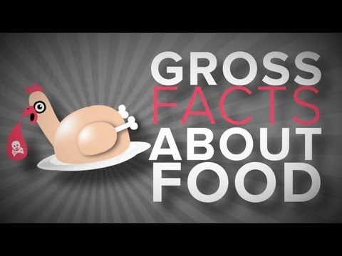 gross - For more gross facts about food, go here: http://joseph-morris.com/2013/06/facts-about-food/ From fake honey to feces in your soda pop, this video infographi...