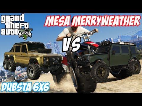 Gta Dubsta 6x6 Gta 5 Dubsta 6x6 vs Mesa