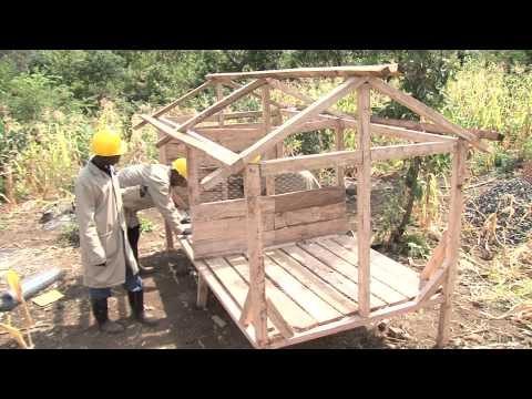 Building a Kuku Mobile - Affordable Chicken Shed