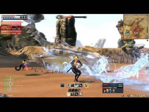 Blade & Soul Online Field Open World Boss Scorpion Gameplay