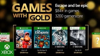 Games With Gold di ottobre