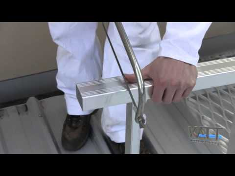 KATT Modular Access Ladder & VISTA Fold Down Ladder Systems Video Image