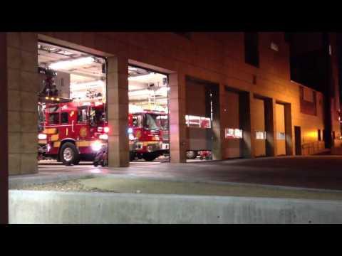 video building fire turnout
