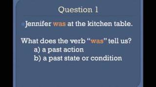 The Simple Past Tense, Basic English Grammar Lesson 3b