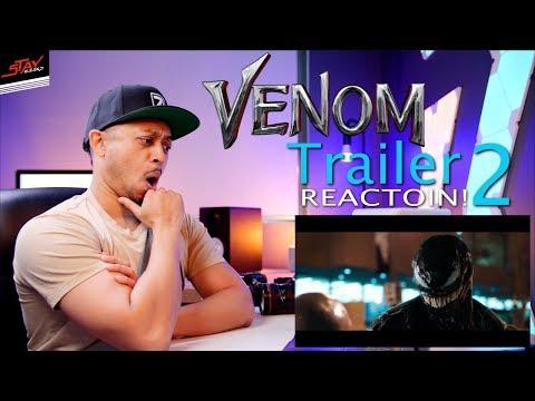 VENOM REVEALED!! - Official Trailer 2 REACTION!!!