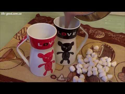 Какао с зефирками ♥ Вкусный и быстрый рецепт