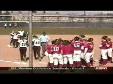 homerun - When Western Oregons Sara Tucholsky hit a three-run shot over the fence against Central Washington on April 26, 2008, her round-tripper gave the Wolves a lea...