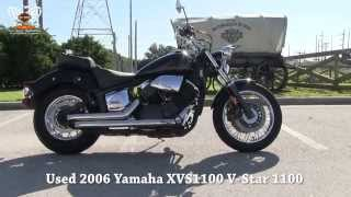 2. 2006 Yamaha V Star 1100 Used Motorcycles for sale in Tampa Florida