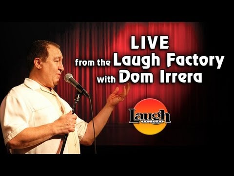 Dom Irrera with Bret Ernst Live from The Laugh Factory (Comedy Podcast)